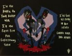 BOTDF Death To Your Heart Painting