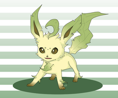 Leafeon by oober-zombie