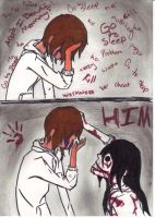 Jeff the Killer~ Saves Himself by EmiItsuki