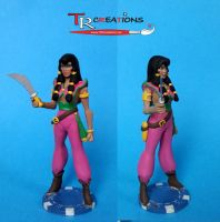 The Pirates of Dark Water - Tula Custom Figure by zelu1984
