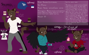 .] Reference Sheet \\ Squirrel [. by ArchAngelAnnabelle