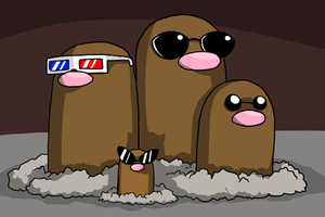 The Diglett Family