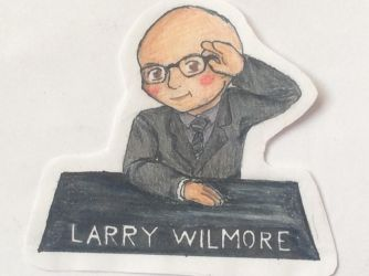 Larry Wilmore chibi by lostblood22