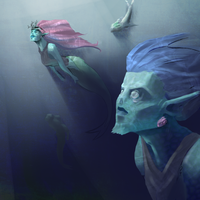 The Merfolk by HueTwo