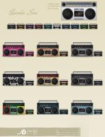 boombox icons by LeMex