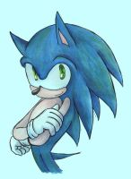 I'm sonic by bbpopococo