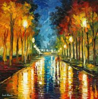Color reflection by Leonid Afremov by Leonidafremov