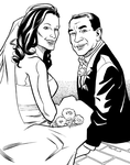 Wedding Commish by mistermuck
