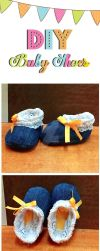 DIY BABY SHOES by unprettysuplada