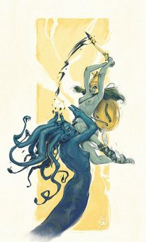 Perseo y Medusa by Giacobino