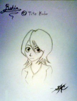 My Rukia 2 -uncolored- by Spector-Q