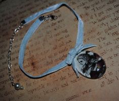 Blue Alice Choker by OphanimGothique