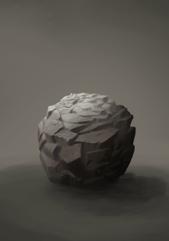 Material Study 3 : Rock by pixg