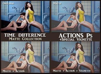 Time difference  ACTION Ps  by Laurent-Dubus