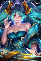 Classic Sona .NSFW optional. by sakimichan