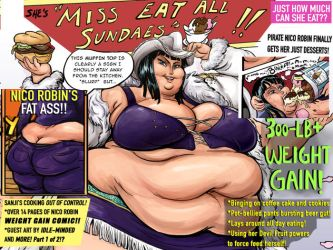 Miss Eat All Sundaes#1 Banner Cover by TheAmericanDream
