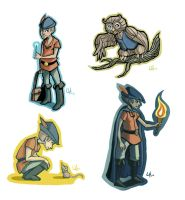 King's quest stickers by Lexie-Holliday