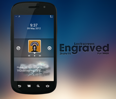Engraved MIUI Lockscreen by Zkate15