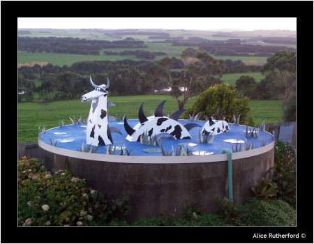 The Cow-Dragon by Alice-Louise