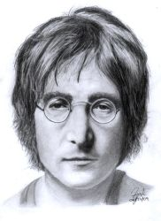 John Lennon better quality by thesharkman