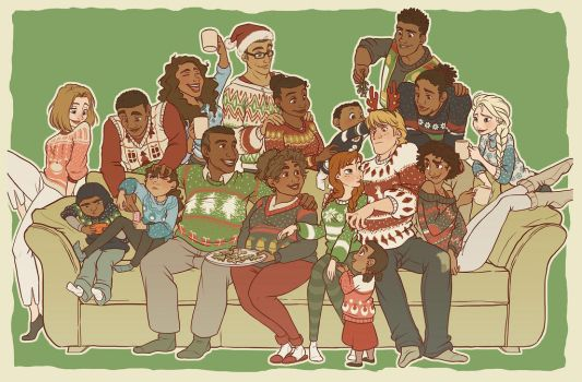 Kristoff's Family Christmas by NightLiight