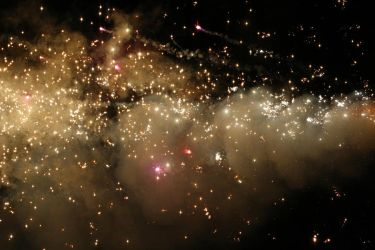 Fireworks Stock 176 by Malleni-Stock