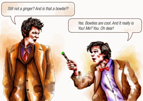 Time Lord Problems. by VarshaVijayan
