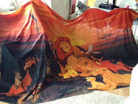 Lion King flag by Takadk