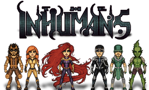 The Inhumans by ThatsSoHaydn