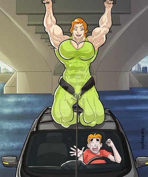 Archie's Mom Illustration - 3.1 by Archie-Fan