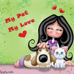 My pet , my love !!! by Myria-Moon by Myria-Moon