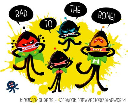 Bad to the bone by KingsandQueens