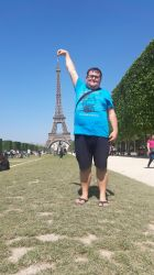Tubich In Paris: The Eiffel Tower Day Pic by tubi4