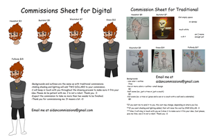 Commission Sheets -0-[PLEASE READ DISC.]-0- by AidanTheGaymer
