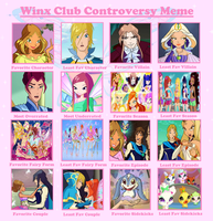 Winx Club Controversy Meme (FILLED OUT) by PurfectPrincessGirl