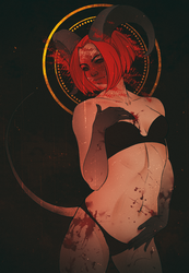 Succubus by Anveea