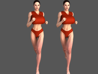 Jogging suit small by CyBerLee3D