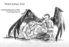 Watching you - Supernatural fancomic by Resosphere
