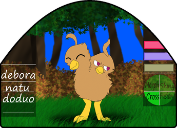 Debora|female|natu/doduo by millemusen
