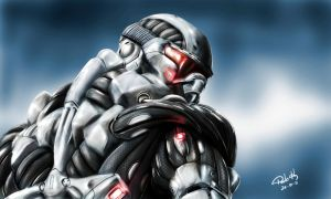 Crysis - NANOSUIT by pauloh-dsign