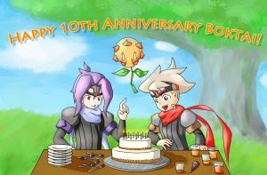 Happy 10th Anniversary, Boktai! by RollEXE