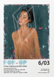 POP-OP, Gallery solo show by theirison