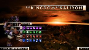 The Kingdom of Kaliron version 3.1.1 Loadingscreen by PheoniX-VII