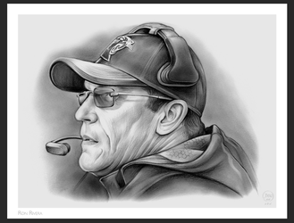 Ron Rivera Carolina Panthers by gregchapin