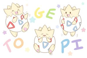 Togepi's Little Antics by pdutogepi