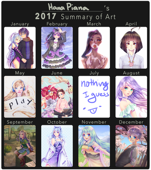 2017 Art Summary by HanaPiana