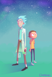 Rick and Morty by Choppywings