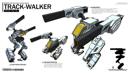 Track-Walker by CMG-simplestuff
