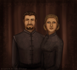 The King and Queen of Ferelden by Aztarieth