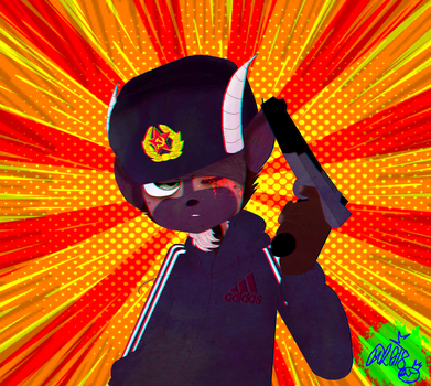 -lmao look at that commie- by MikuBlazeTheKat
